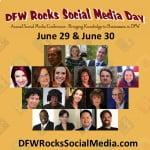 DFW Rocks Social Media Day