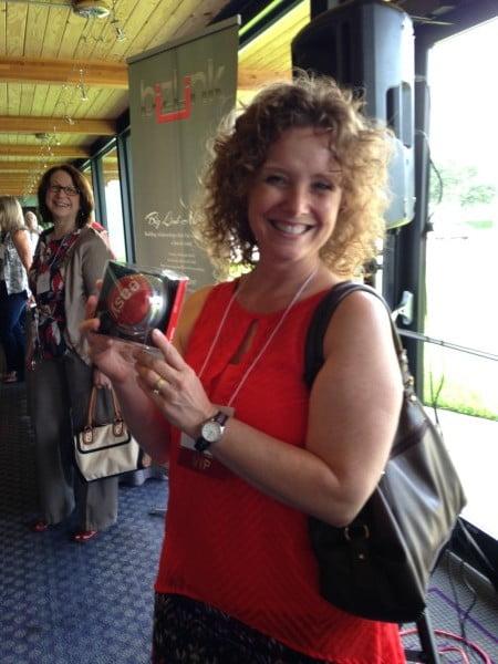 Tifany Henderson Wins Door Prize!