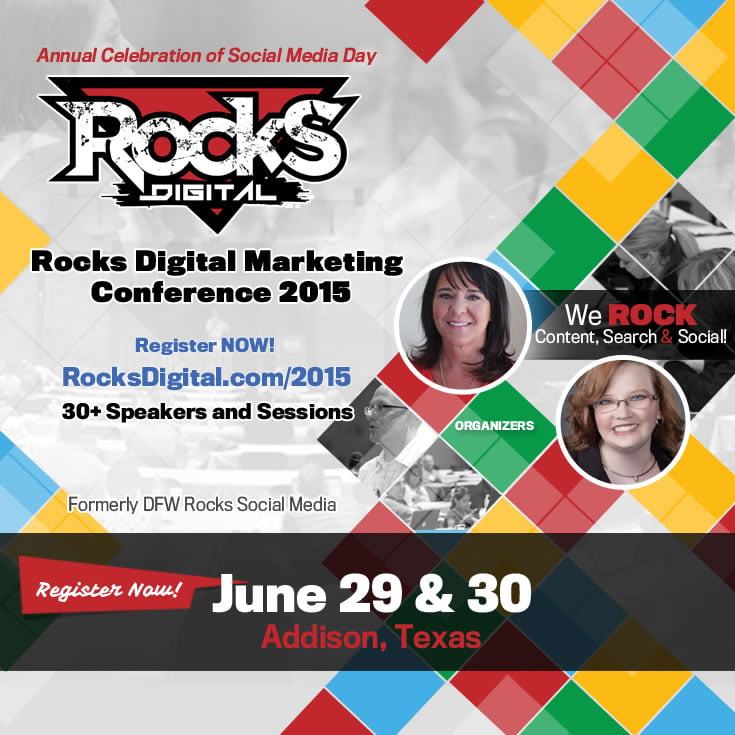 Rocks Digital Marketing Conference 2015