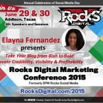 Meet Elayna Fernandez, Rocks Digital Marketing, Dallas Social Media Speaker