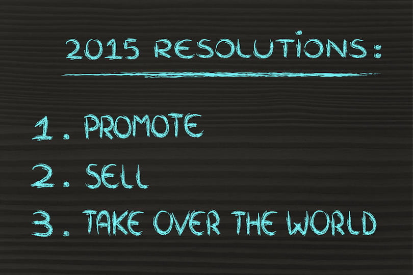 5 Digital Marketing Resolutions to Rock the Web in 2015