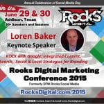 Loren Baker to Keynote at Rocks Digital Marketing Conference in Dallas 2015