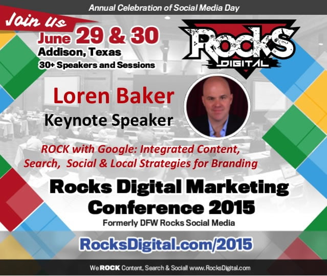 Loren Baker, Keynote Digital Marketing Speaker