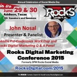 John Nosal, Rocks Digital Marketing Conference 2015