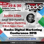 Justin Liles, Local SEO Expert to Speak at Rocks Digital 2015