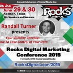 Randall Turner, Digital Marketing Expert to Speak at Rocks Digital Marketing Conference