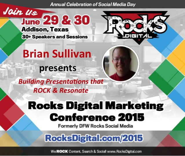 Brian Sullivan, UX and Slideshare Expert, To Speak On Building Presentations that Rock