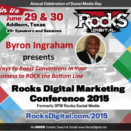 Byron Ingraham To Speak on 5 Ways To Boost Conversions