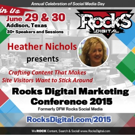 Heather Nichols to Speak on Crafting Content that Sticks