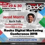 Jerod Morris to Speak at Rocks Digital Marketing Conference 2015