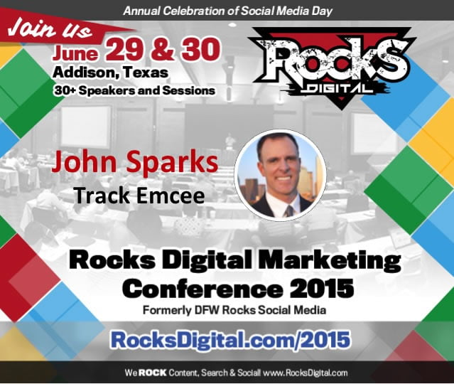 John Sparks to Emcee The Social Media Track