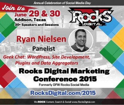 Ryan Nielsen, WordPress Developer to Speak on Geek Chat Panel