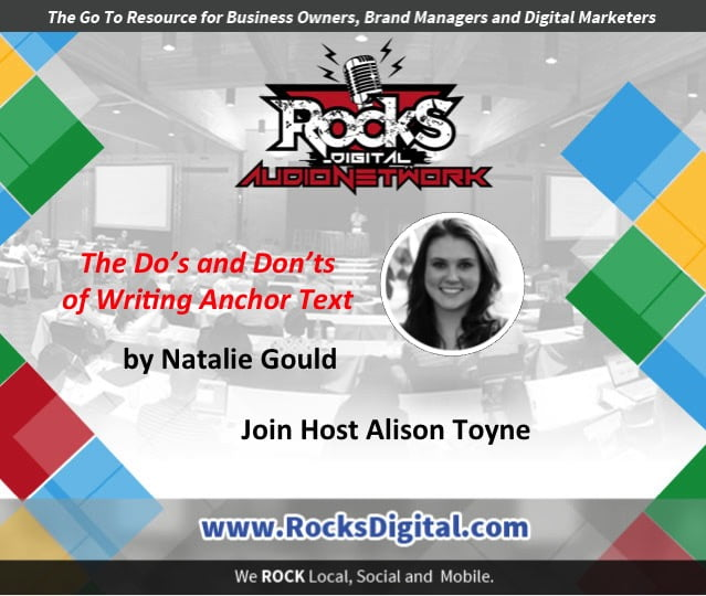 Say Yes to Anchor Text: The Do's and Don'ts [Audio]
