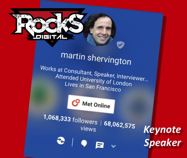 Special Announcement…Martin Shervington, Google Plus Expert, To Keynote at Digital Marketing Conference