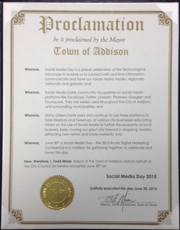 Texas Social Media Day 2015