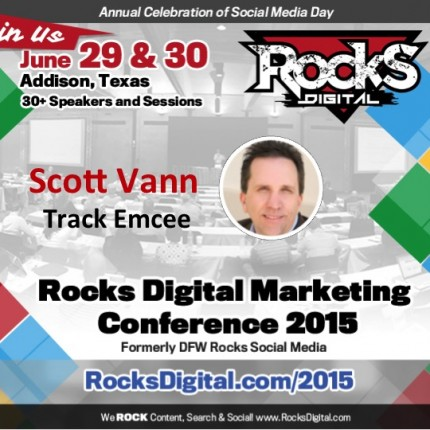 Scott Vann, President of DFWSEM, to Emcee
