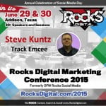 Steve Kuntz, Rocks Digital Marketing Conference 2015 Emcee