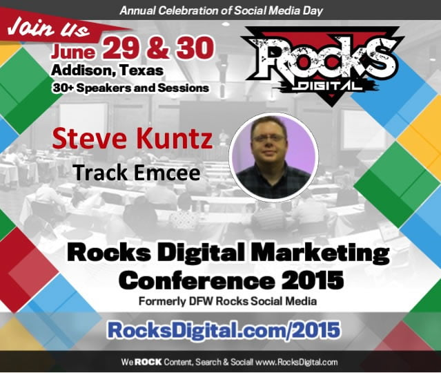 Steve Kuntz to Emcee Content Creation Track at Rocks Digital