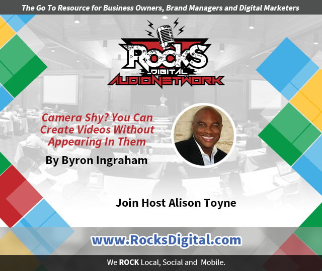 Create Videos Without Appearing in Them - Byron Ingraham
