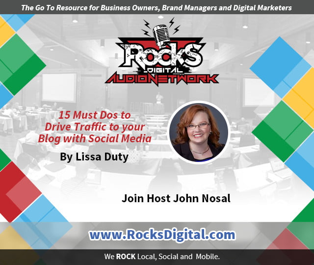 How To Drive Traffic to Your Blog with Social Media [Audio]