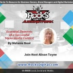 Elements for a Successful Social Media Contest by Melanie Neal