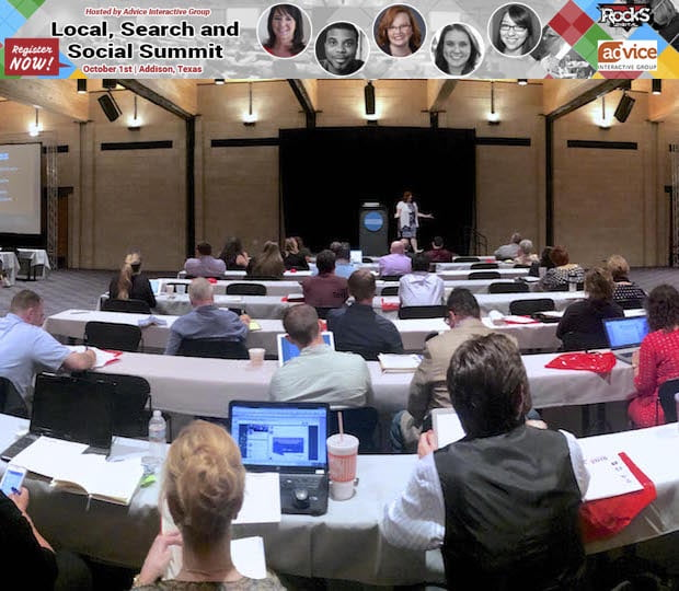 Local, Search and Social Summit 2015 Agenda