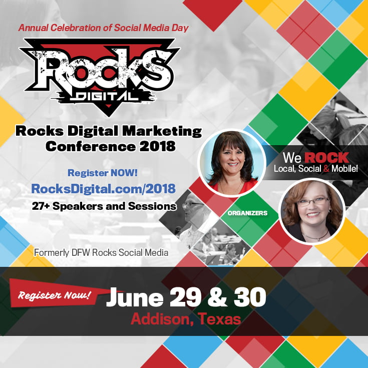 Rocks Digital Marketing Conference 2018 Call for Speakers