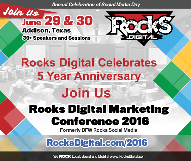 Rocks Digital Marketing Conference Celebrates Its 5 Year Anniversary