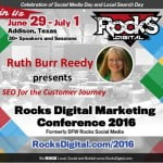 Ruth Burr Reedy Rocks Digital 2016