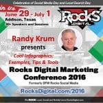 Randy Krum Rocks Digital Marketing Conference 2016