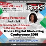 Elayna Fernandez, Rocks Digital Marketing Conference 2016