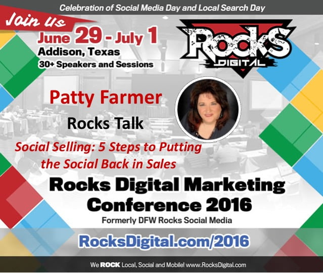 Social Selling: 5 Steps to Putting the Social Back in Sales – Rocks Digital 2016 Live Blog