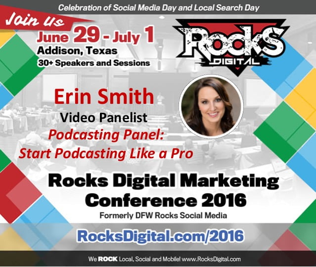 Erin Smith Brings Her Hosting Expertise to the Podcast Panel