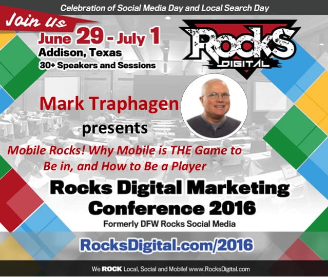 Mark Traphagen Rocks Digital Marketing Conference Dallas 2016