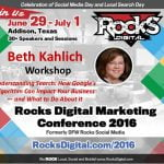 Beth Kahlich, Rocks Digital Marketing Conference 2016