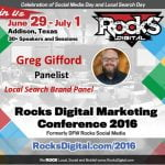 Greg Gifford, Rocks Digital Marketing Conference 2016