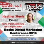 Heather Steele, Rocks Digital Marketing Conference 2016