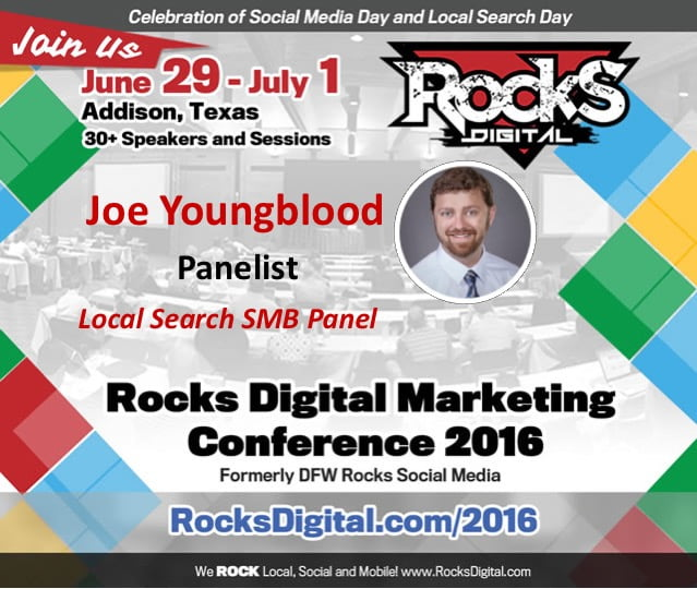 Joe Youngblood, Rocks Digital 2016