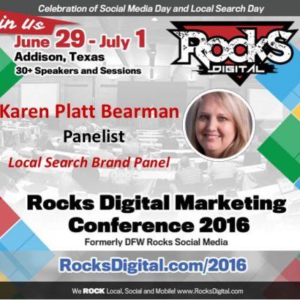 Reach Local's Karen Platt Bearman Joins Rocks Digital's Local Search Day Brand Panel!