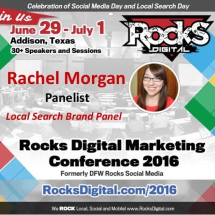 Advice Interactive's Rachel Morgan Joins Rocks Digital's Local Search Day Brand Panel!
