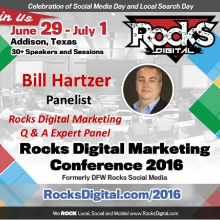 Bill Hartzer to Share His Expertise on the Digital Marketing Q & A Panel