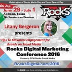 Litany Bergeron, Rocks Digital Marketing Conference Dallas 2016