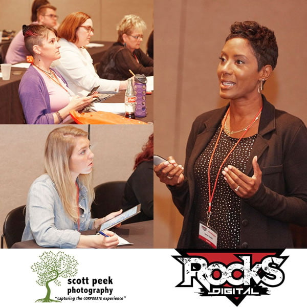 Tanya Smith, Rocks Digital Marketing Conference Dallas 2016