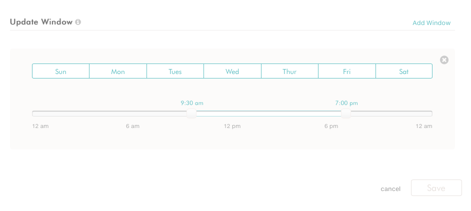 Setting up a posting schedule on dlvr.it