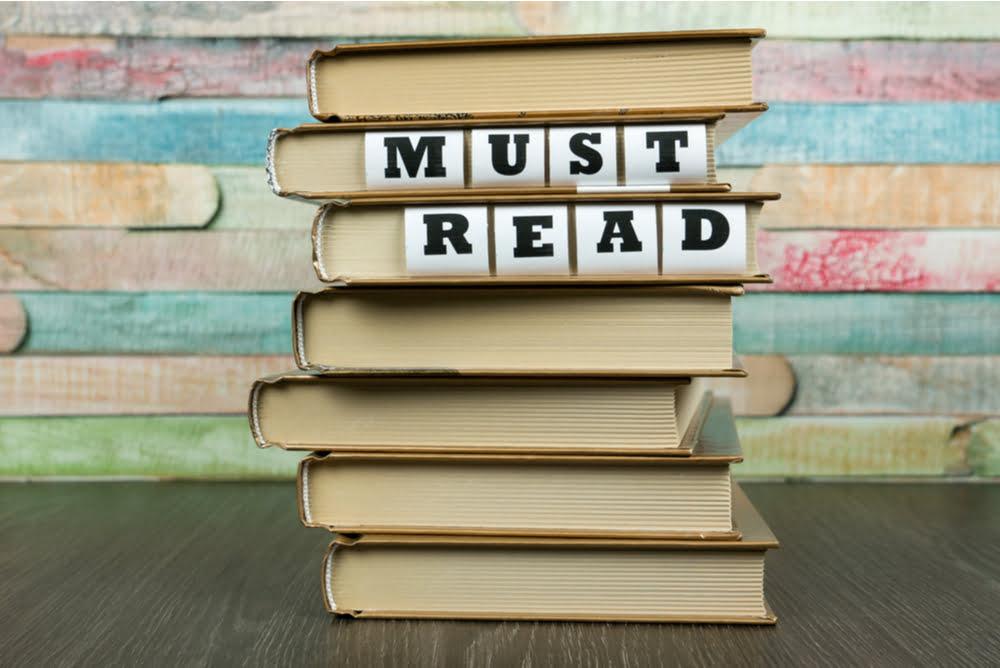Social Media Books on Shelf