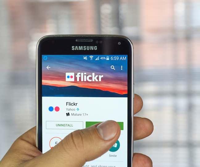 Content Distribution Flickr