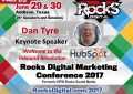 Dan Tyre, Director at HubSpot, to Keynote at the 2017 Rocks Digital Marketing Conference