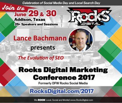 Lance Bachmann, Digital Marketing Expert to Speak on the Evolution of SEO