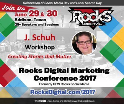 Award Winning Animator J. Schuh to Lead Workshop on Creating Stories that Matter at Rocks Digital