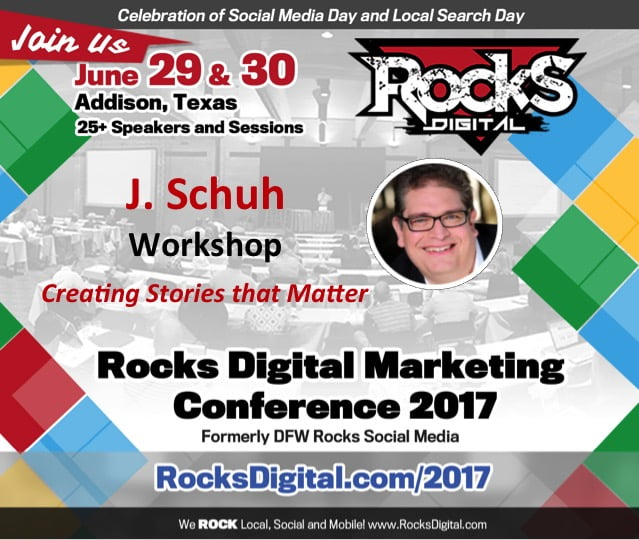 Award Winning Animator J. Schuh to Lead Workshop on Creating Stories that Matter at Rocks Digital